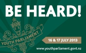 Youth Parliament button - large